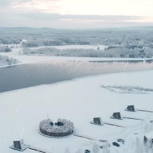 Inspiring Soho Arctic Bath en río Lule