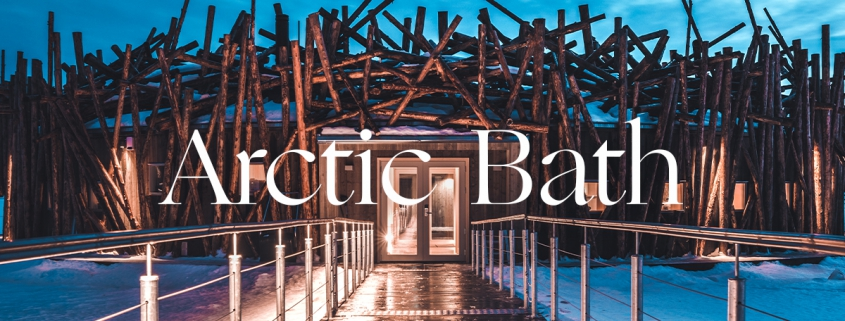 Inspiring Soho Arctic Bath en la Laponia sueca