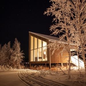 Inspiring Soho Arctic Bath cabaña de noche