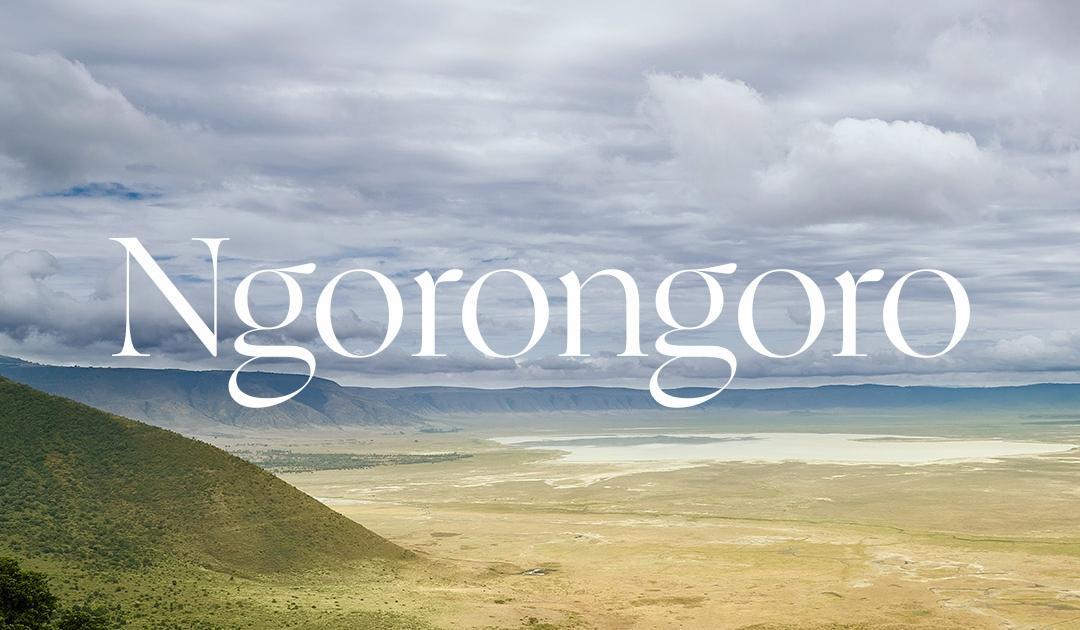 Inspiring Soho - Tanzania - Ngorongoro