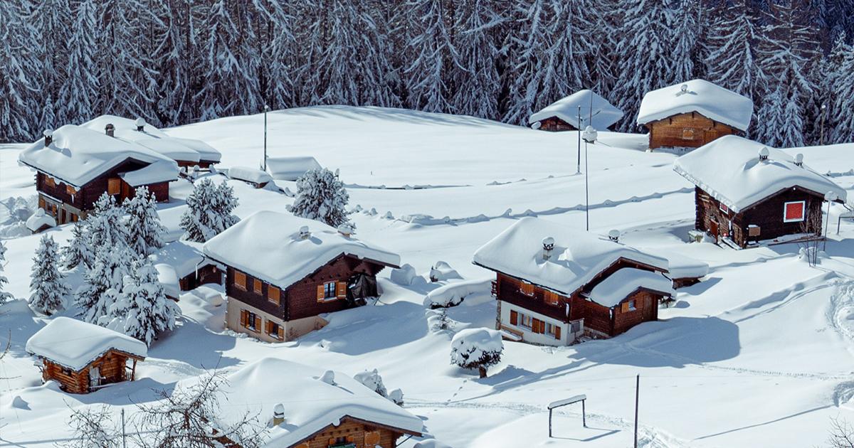 Esquiar en Suiza: más de 7.000 kilómetros de pistas entre pueblos de montaña de postal